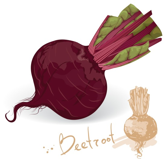 Winter health tips- Beets increase nitric oxide.